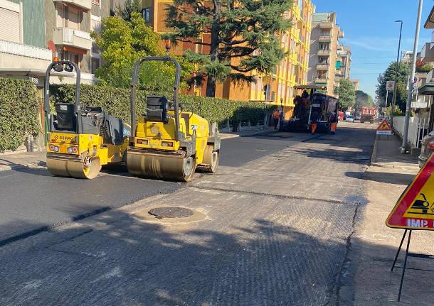 manutenzione strade e marciapiedi Rho