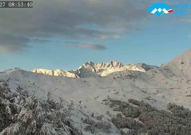 La neve in Alta Valsesia