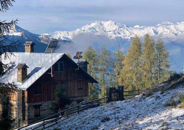 La neve in Val Vigezzo