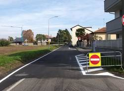 Parabiago, terminati i lavori per la messa in sicurezza di via Piemonte