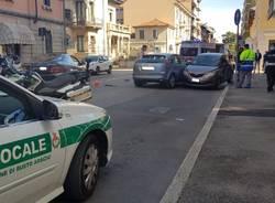 polizia locale busto arsizio incidente