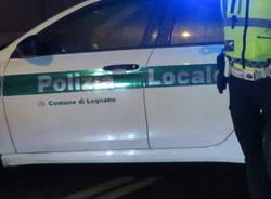 Polizia Locale Legnano notte