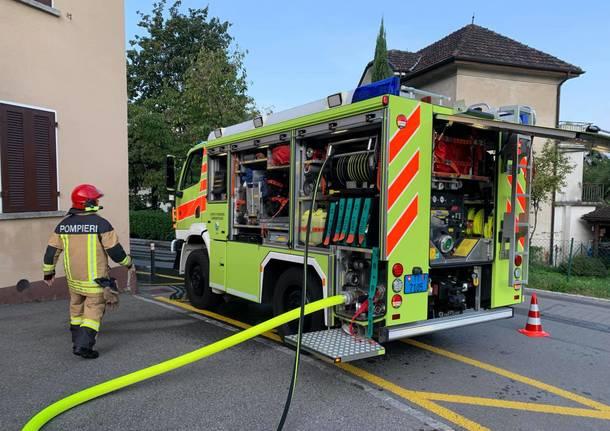 pompieri gambarogno vigili del fuoco canton ticino