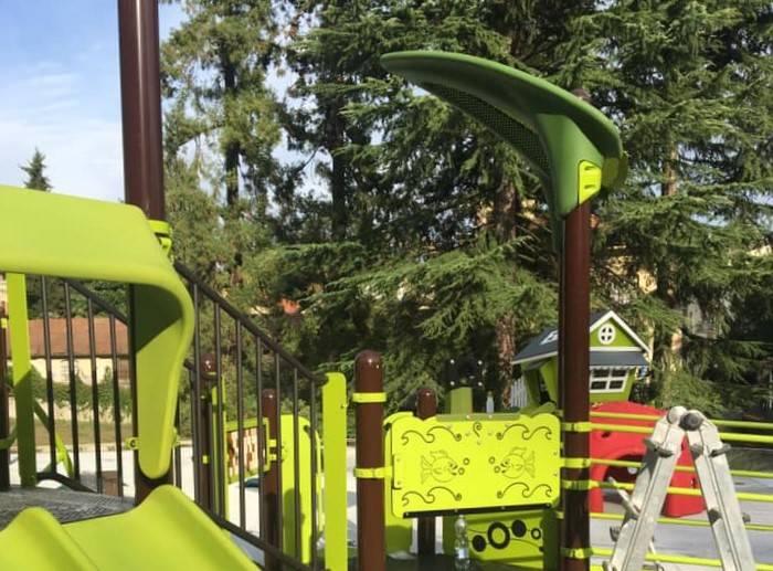 primi giochi parco gioia villa mylius