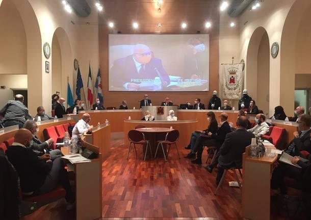 Saronno consiglio comunale