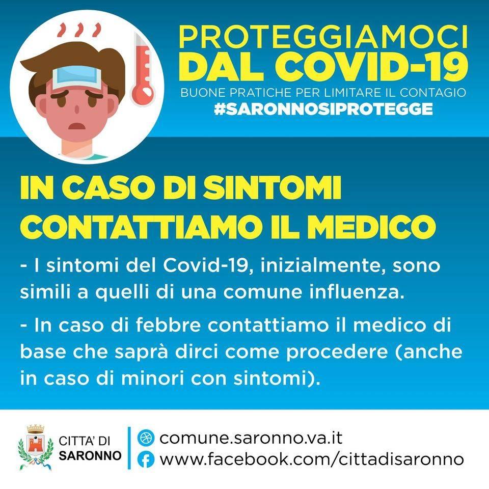 Saronno, la campagna anti Covid arriva in città