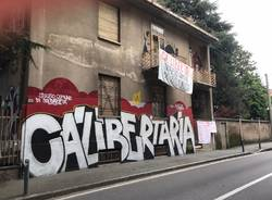 Saronno, la casa occupata di via San Francesco