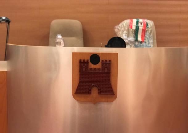 Saronno, Sala Vanelli pronta per accogliere il consiglio comunale