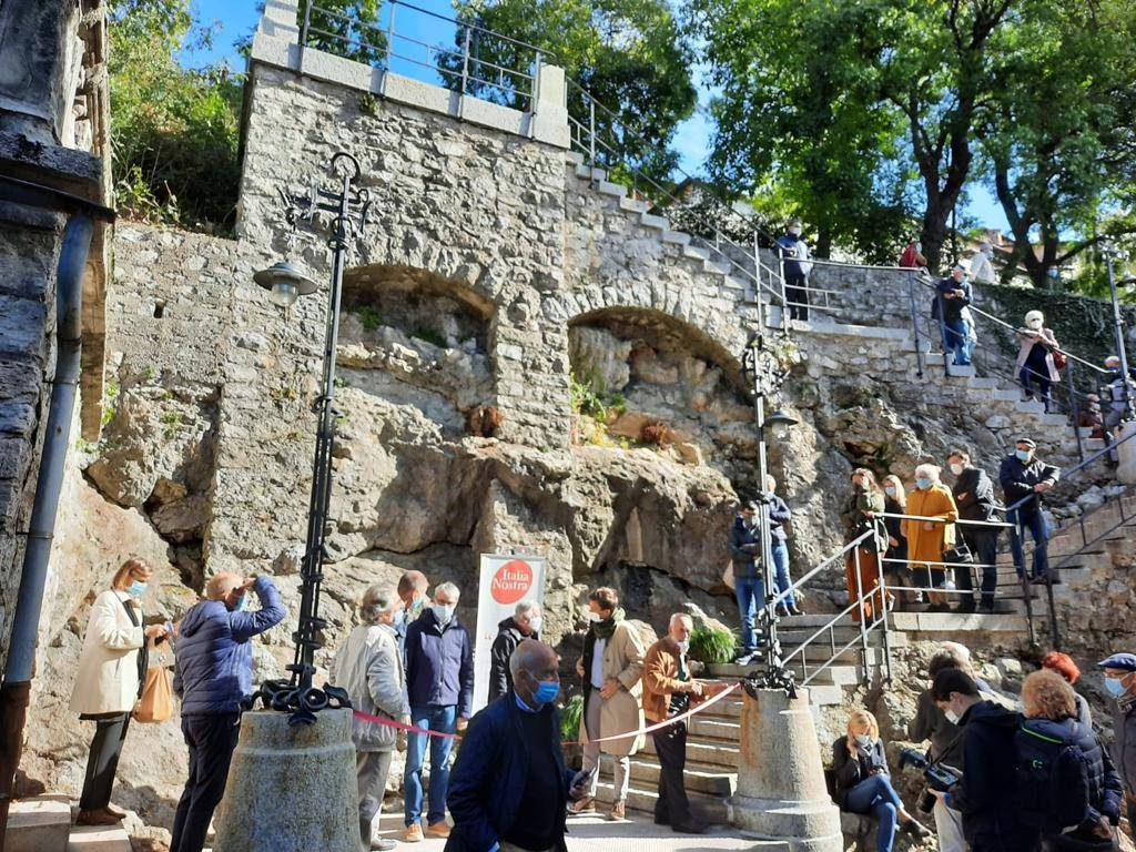 Scalea del Sommaruga al Sacro Monte