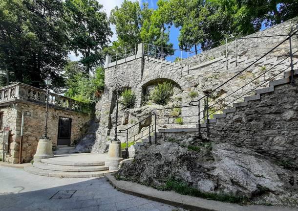 Scalea del Sommaruga al sacro Monte di Varese