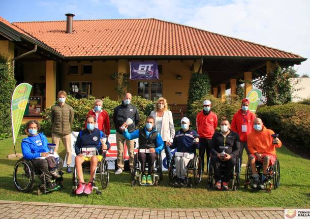 Secondo torneo tennis carrozzina a Gallarate