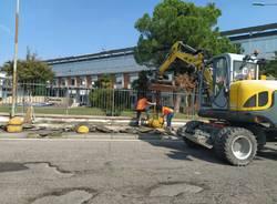 Solaro, via alla rimozione di amianto nella scuola Mascherpa e ai lavori in corso Europa