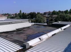 tetto scuola media San Vittore Olona
