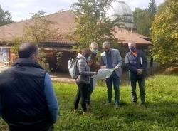 Tradate - Al via i lavori per il planetario del Parco Pineta