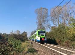 treno Donizetti tra Gallarate e Besnate