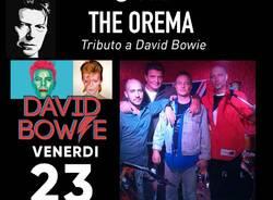 Tributo a David Bowie, musica rock e cena da iComHub a Turate