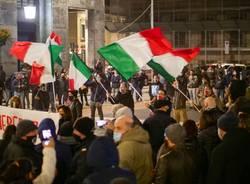 Varese manifestazione protesta dpcm