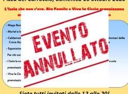 Villa Cortese - annullata la festa della castagna