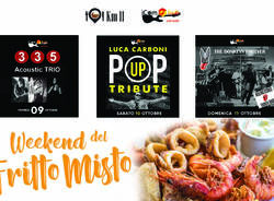 Weekend di Live Music & Fritto Misto da iComHub a Turate