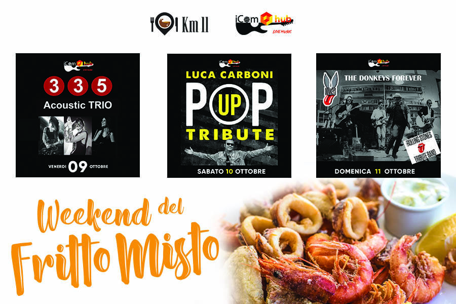 Weekend di Live Music & Fritto Misto da iComHub a Turate