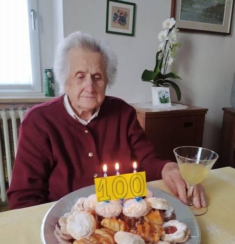 100 anni nonna mariuccia