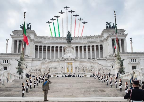 Le celebrazioni del 4 novembre all'Altare della Patria