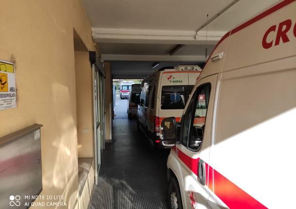 ambulanze in coda