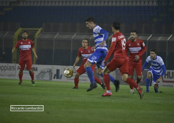Calcio, Pro Patria - Pro Sesto 2020