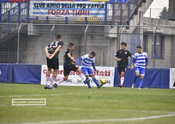 Serie C, Pro Patria – Grosseto 0-0