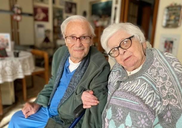 carla e ferruccio milani 70 anni matrimonio varese