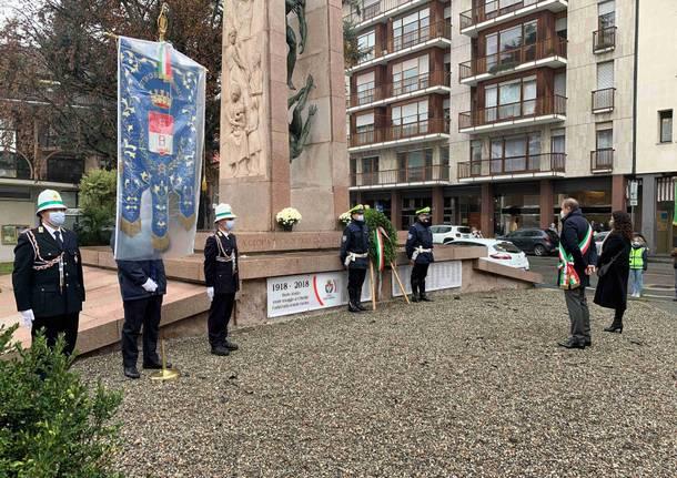 commemorazione 4 novembre busto arsizio