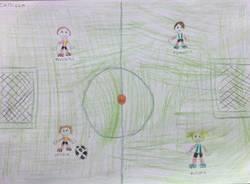Disegni dei piccoli amici Olimpia calcio