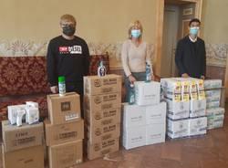 donazione prodotti sanitari castellanza