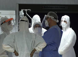 sala operatoria covid pronto soccorso varese