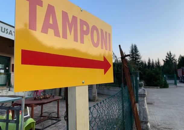 Il punto tamponi di Cassano Valcuvia apre i battenti il 12 novembre