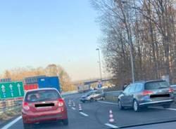 incidente busto arsizio imbocco autostrada