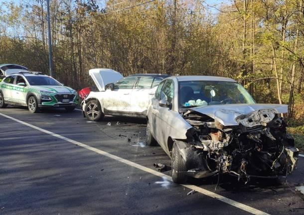 incidente stradale Taino