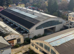L'area dell'ex Aermacchi di Varese