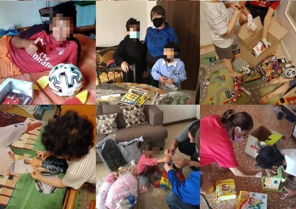 Doni in arrivo dalla Casa del giocattolo solidale