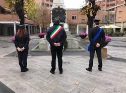 La commemorazione in onore del 4 novembre a Garbagnate Milanese