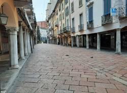 Le domeniche di Varese tornano deserte