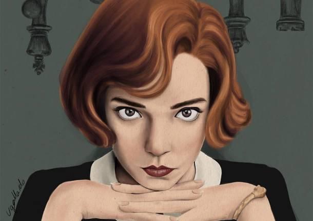 """Una raccolta di illustrazioni sulla """"Regina degli scacchi"""""""
