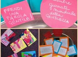 Lissago, i bimbi della scuola dell'infanzia disegnano la gentilezza