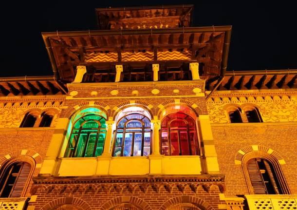 Luci e colori Villa Montevecchio