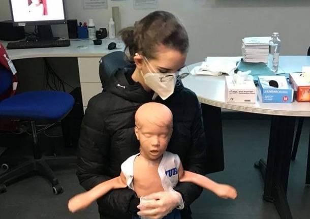 manovre salva vita pediatriche cri gallarate