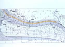 Mappa Ciclopedonale Via Selene , Varese