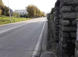 Marcapiede e pista ciclabile in viale Belforte