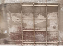muro pericolante via macallé legnano
