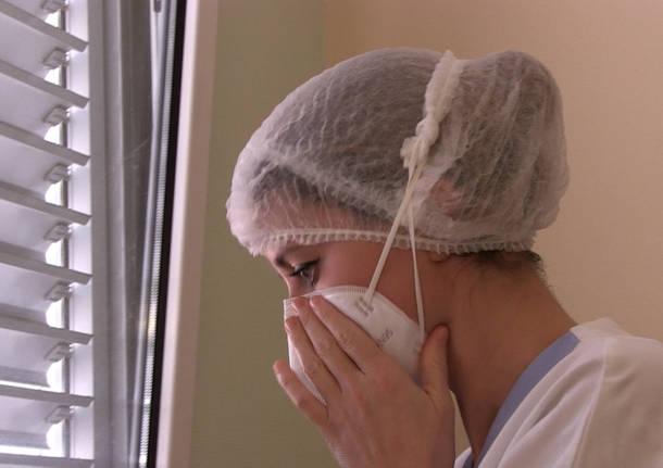 Nella pneumologia covid dell'ospedale di Varese