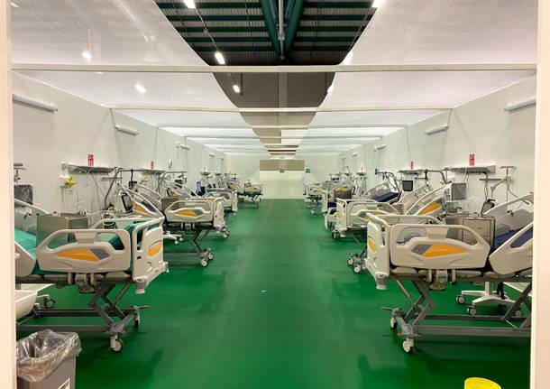 Ospedale covid fiera di Bergamo